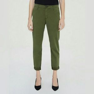 NWT AG Adriano Goldschmied Caden Green Trousers